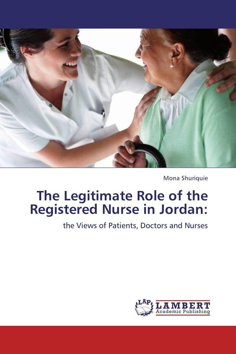 The Legitimate Role of the Registered Nurse in Jordan: #1