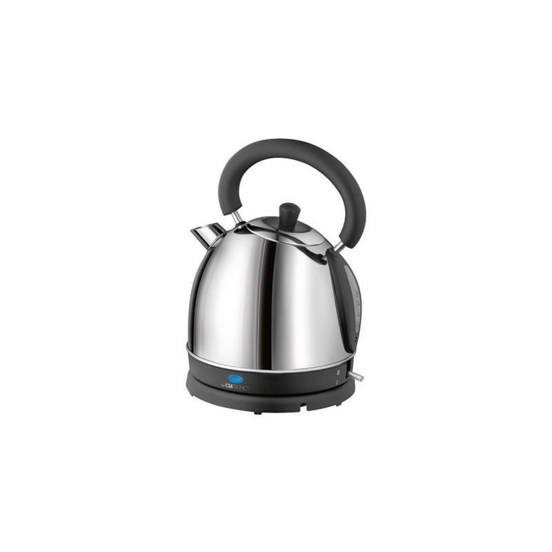 Электрический чайник Clatronic Clatronic WK 3564 Inox Gray Metallic WK-3564-IX, серебристый  #1
