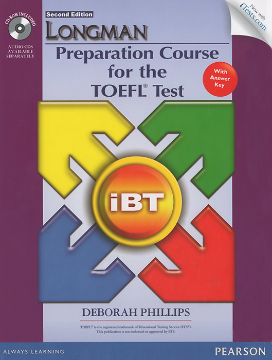 Longman Preparation Course for the TOEFL Test: iBT: with Answer Key (+ CD-ROM) | Филипс Дебора  #1