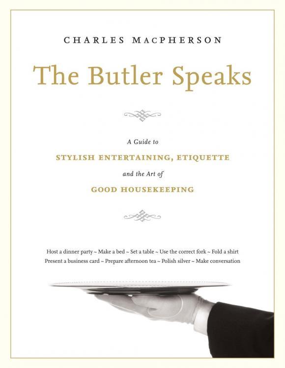 The Butler Speaks | MacPherson Charles #1