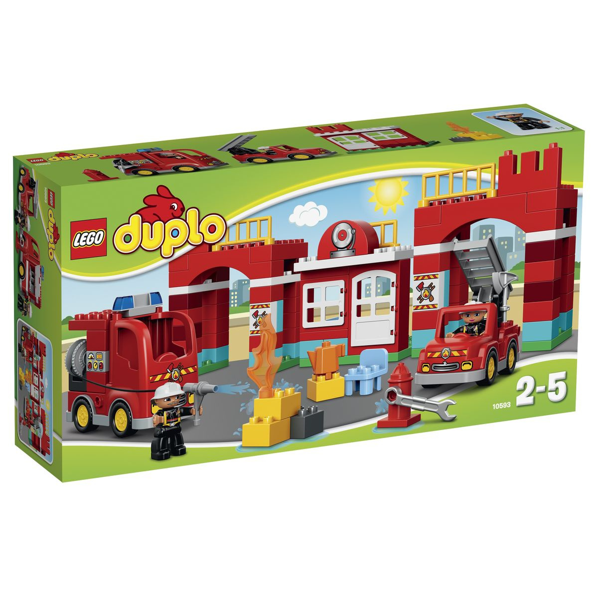 Конструктор LEGO DUPLO 10593 Пожарная станция #1