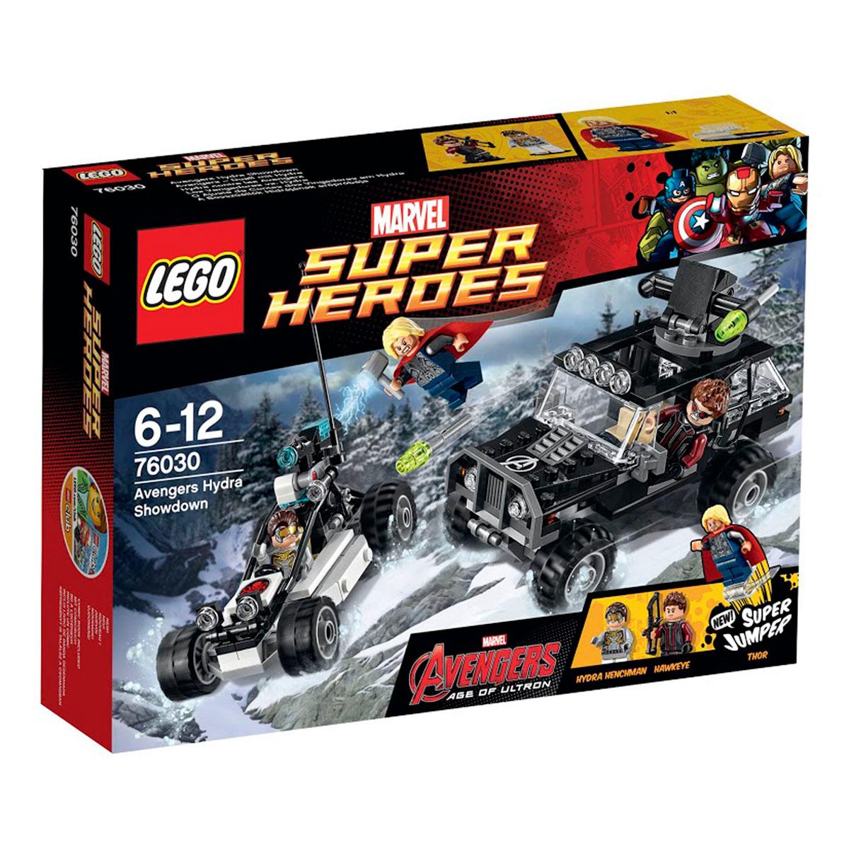 Конструктор LEGO Marvel Super Heroes 76030 Гидра против Мстителей #1