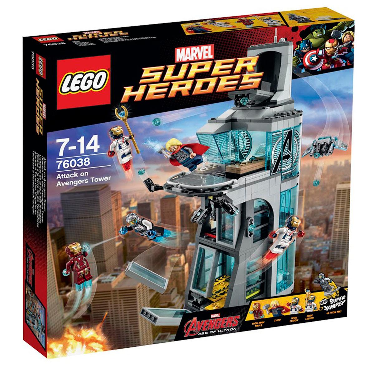 Конструктор LEGO Marvel Super Heroes 76038 Нападение на башню Мстителей  #1