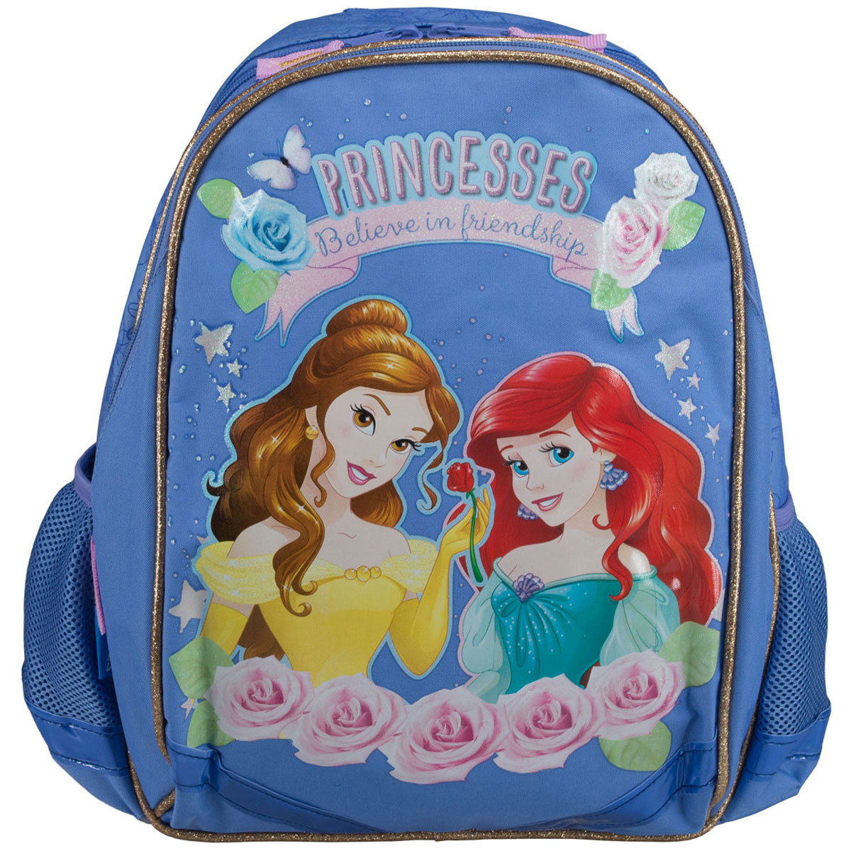 """Рюкзак школьный Disney Princess """"Believe in Friendship"""", цвет: светло-фиолетовый. PRCB-MT1-977  #1"""