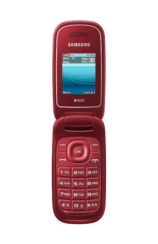 Мобильный телефон Samsung Samsung GT-E1272, красный #1