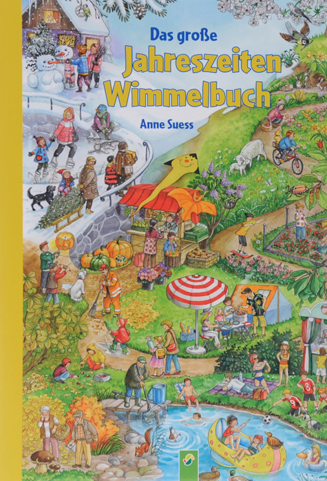 Das grosse: Jahreszeiten-Wimmelbuch #1