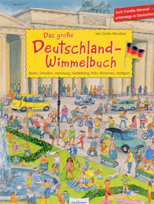 Das grosse Deutschland - Wimmelbuch | Wandrey Guido #1