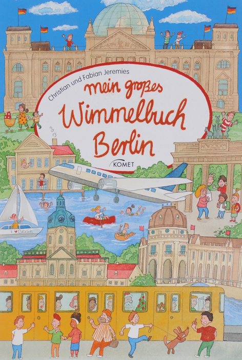 Mein grosses Wimmelbuch Berlin #1