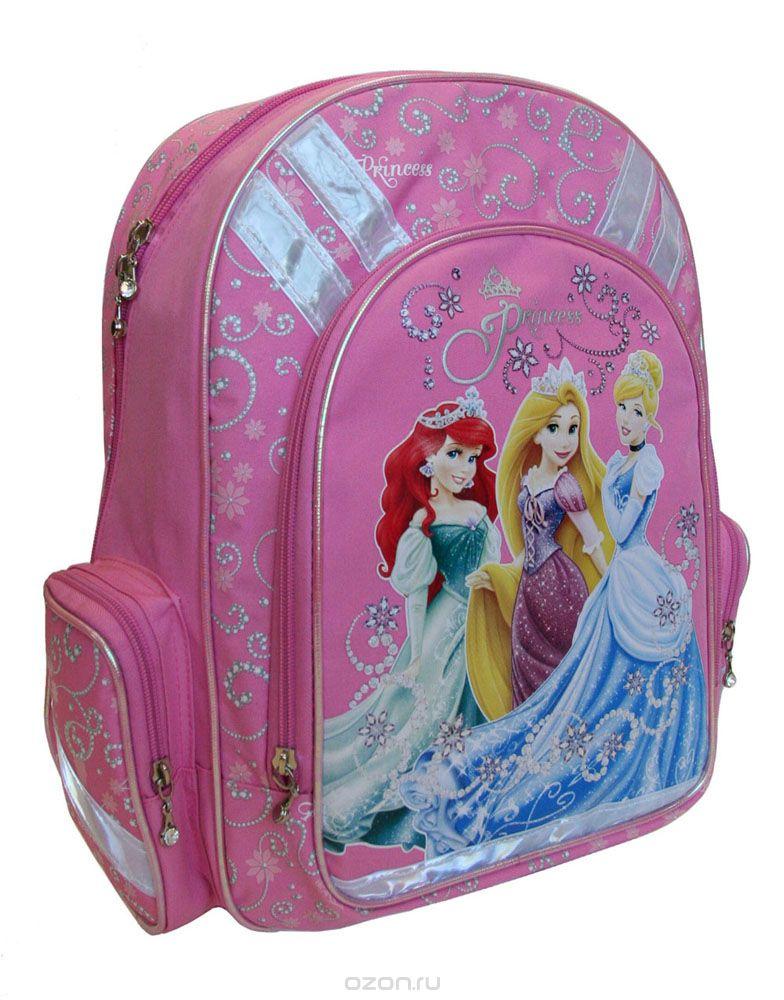 """Рюкзак детский Disney """"Princess"""", цвет: розовый. PRBB-RT2-836 #1"""