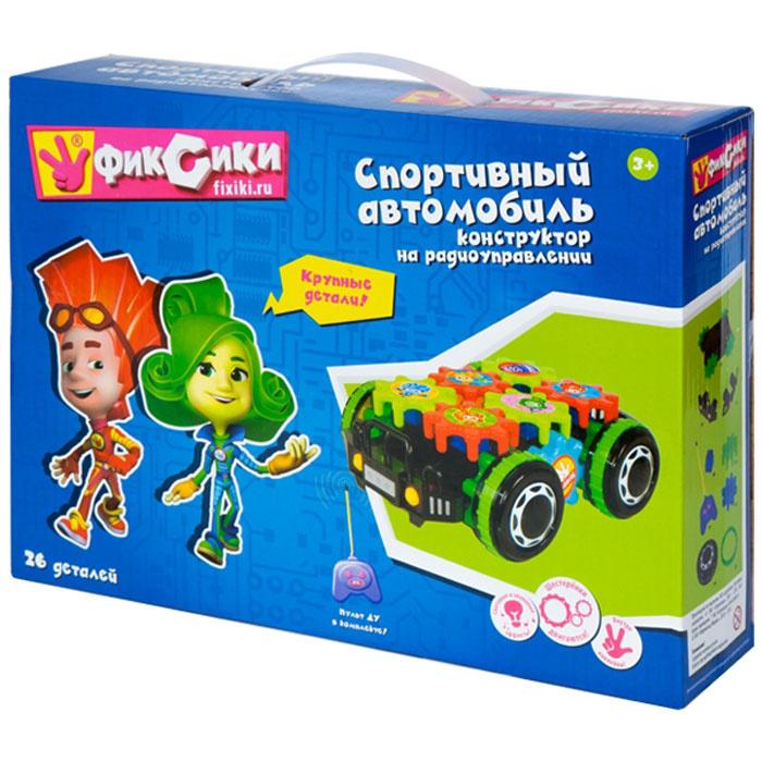 Фиксики Конструктор Спортивный автомобиль с пультом ДУ  #1