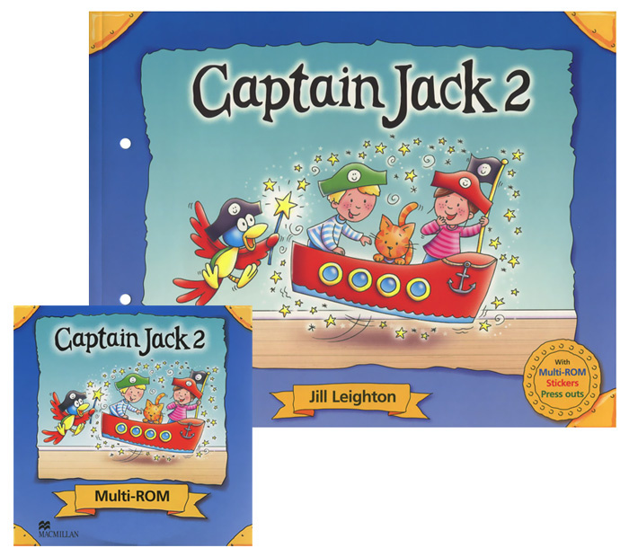 Captain Jack 2 (+ CD-ROM) | Leighton Jill #1