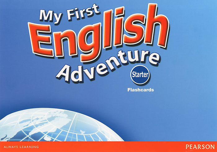 My First English Adventure 2: Starter: Flashcards (набор из 22 карточек) #1