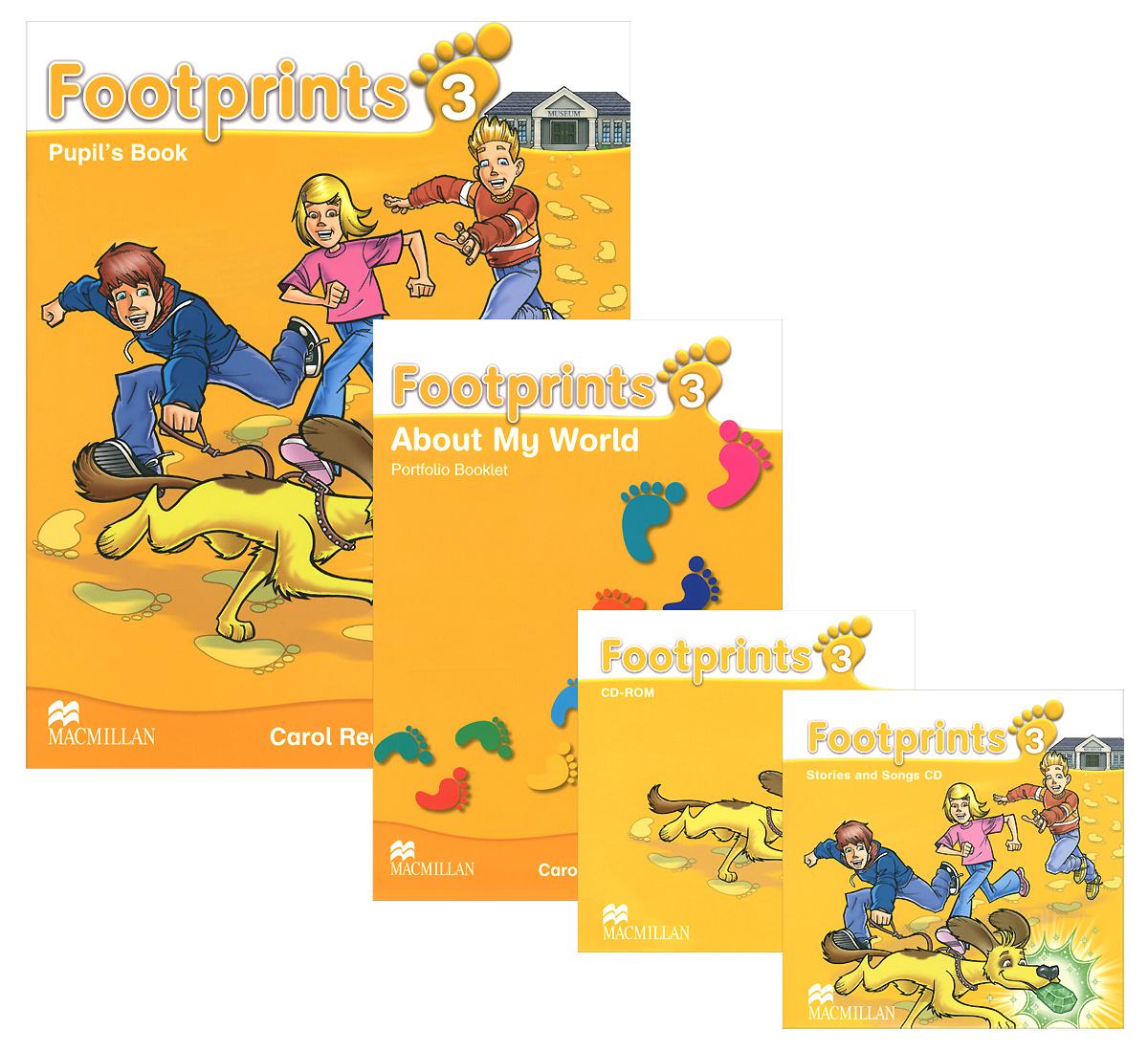 Footprints 3: Pupil's Book (комплект из 2 книг + 2 CD) | Read Carol #1