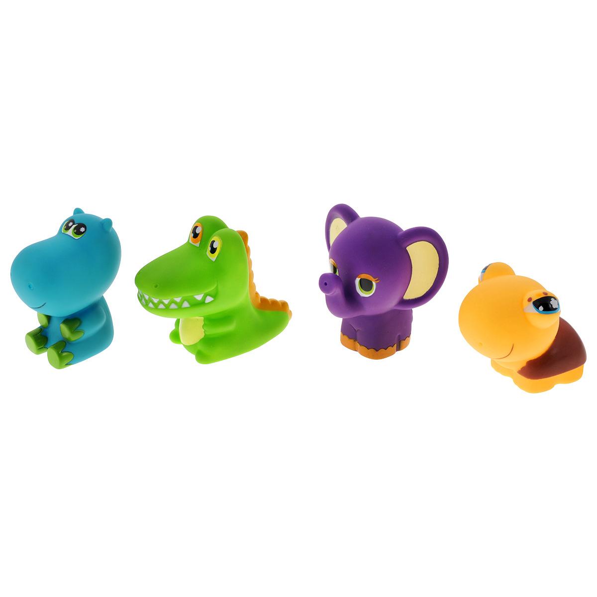"""Игровой набор для ванны Mioshi """"Забавные малыши"""", 4 шт #1"""