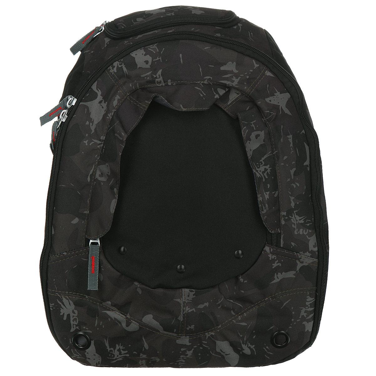 """Рюкзак школьный """"Action"""", цвет: черный, хаки. AB11023 #1"""