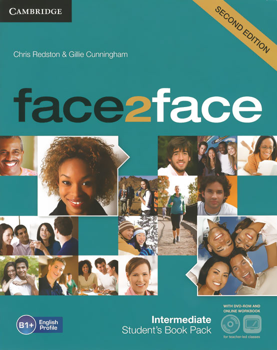 Face2Face: Intermediate: Student's Book with Online Workbook (+ DVD-ROM) | Редстон Крис, Каннингем Джилли #1