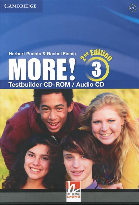 More! Level 3: Testbuilder CD-ROM / Audio CD   Пучта Херберт, Finnie Rachel #1