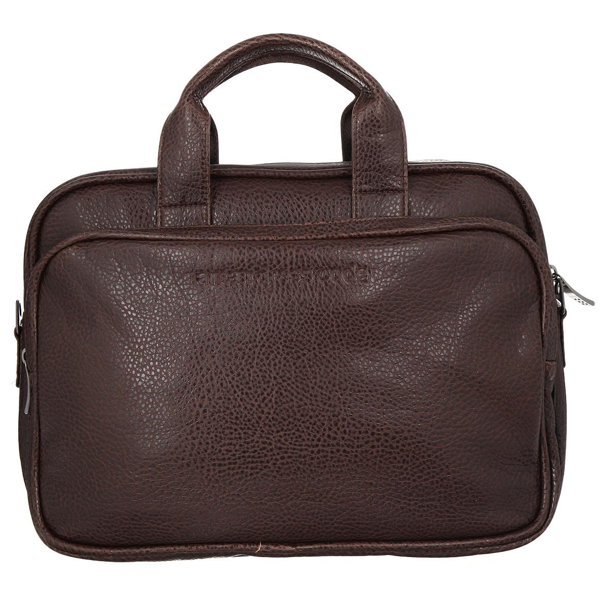 f9f514624a79 Сумка Antan, цвет: темно-коричневый. 8-48 В — купить в интернет-магазине  OZON.ru с быстрой доставкой