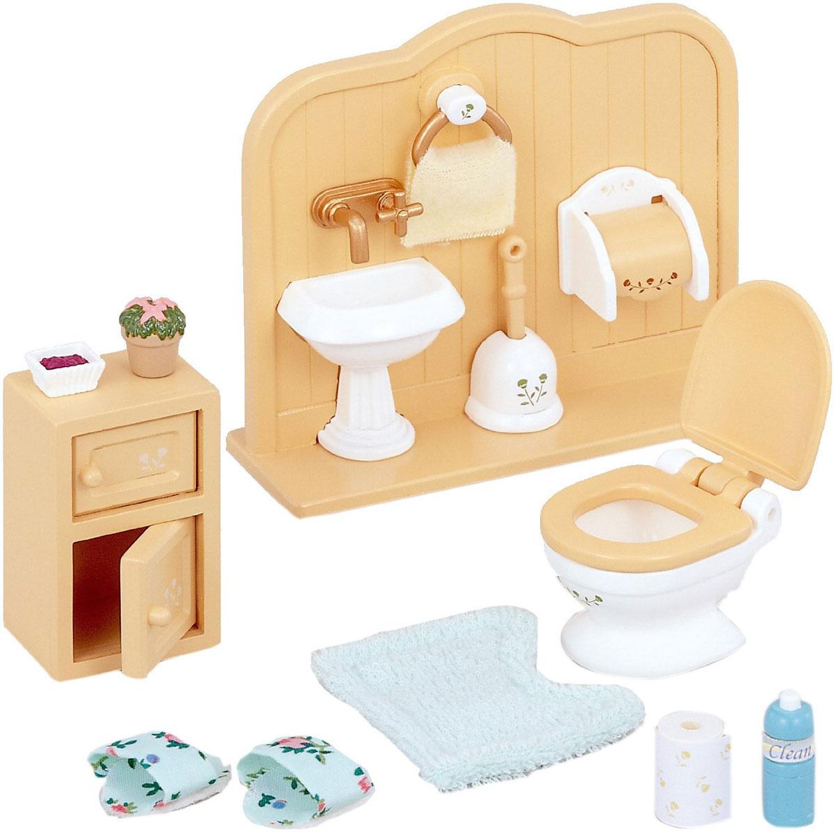 Sylvanian Families Игровой набор Туалетная комната #1