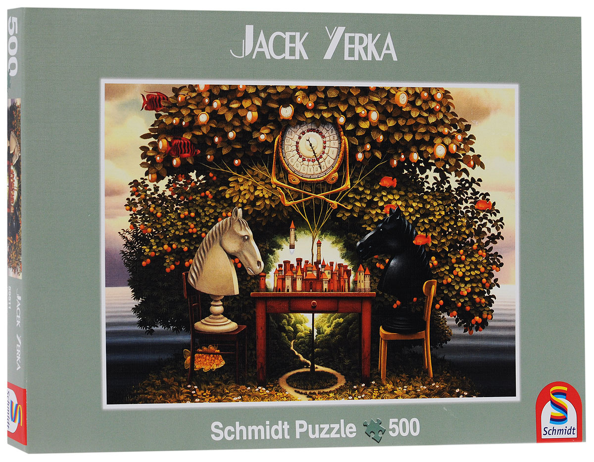 Schmidt Яцек Йерка,Турнир на острове. Пазл, 500 элементов #1