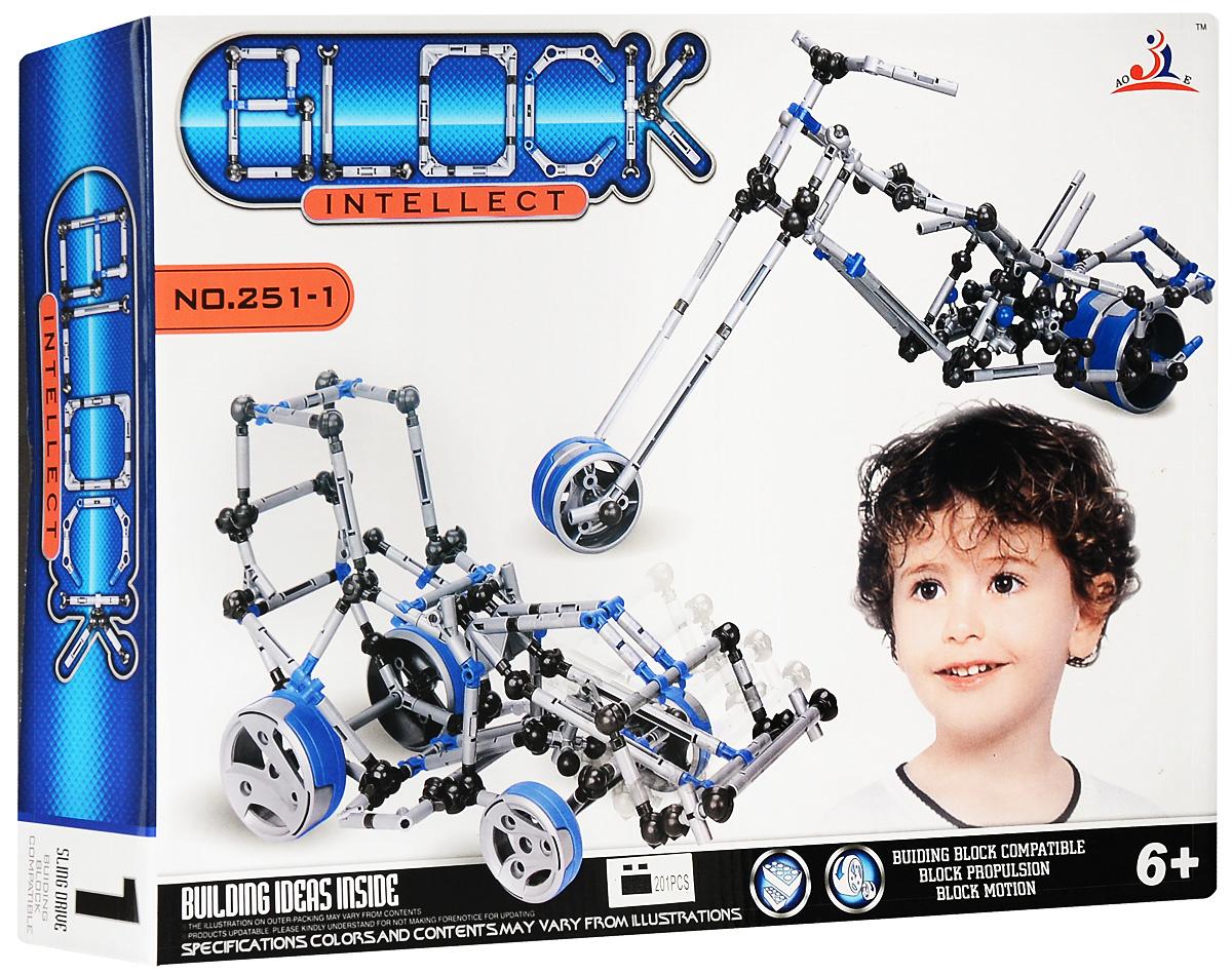 Intellect Block Конструктор Трактор #1