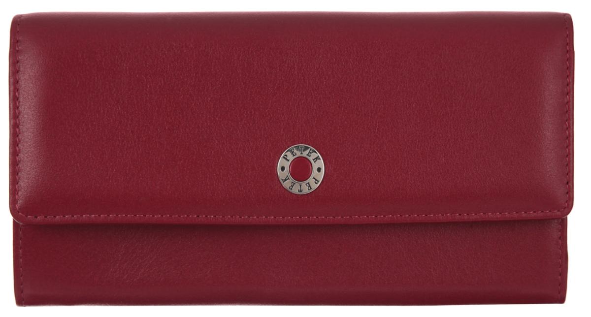 a314b14eca15 Портмоне женское Petek 1855, цвет: бордовый. 440.4000.10 — купить в интернет -магазине OZON.ru с быстрой доставкой