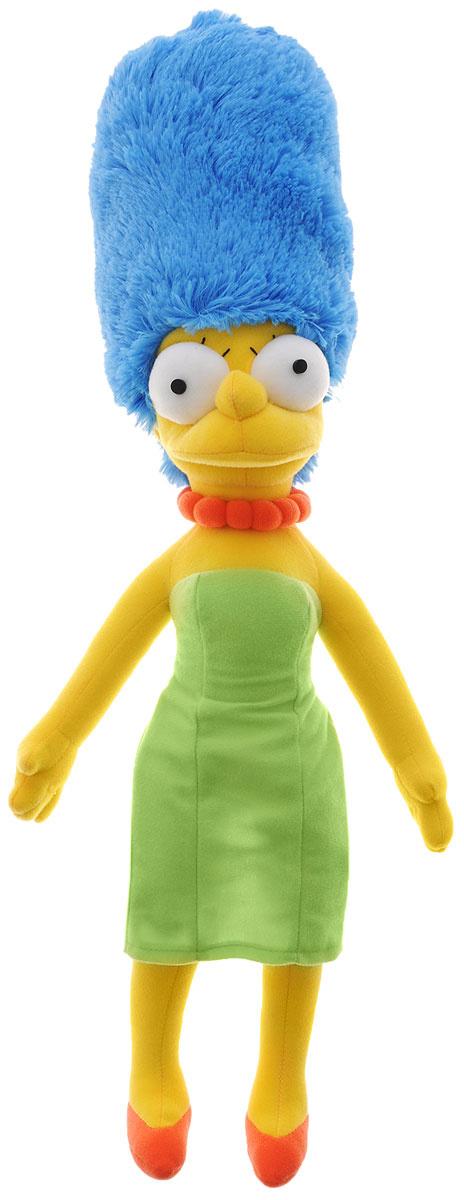 Simpsons Мягкая игрушка Мардж Симпсон цвет желтый салатовый голубой 58 см  #1