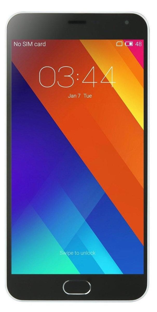 Смартфон Meizu Meizu M2 Note16GB, белый. Уцененный товар #1