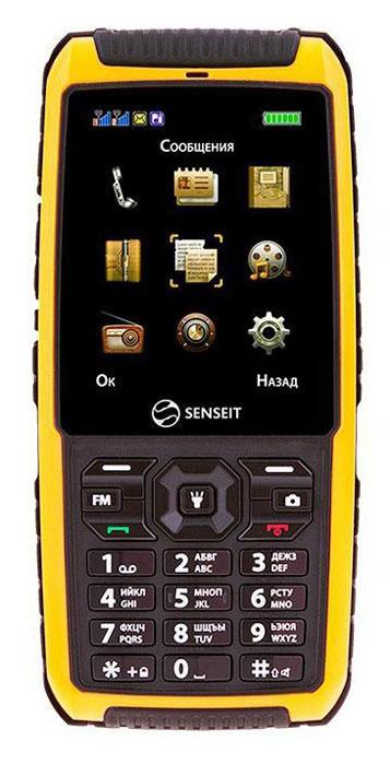 Мобильный телефон SENSEIT P101, желтый #1