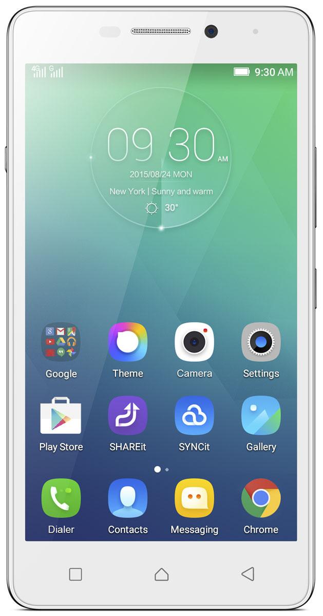 Смартфон Lenovo Vibe P1m 16GB, белый #1