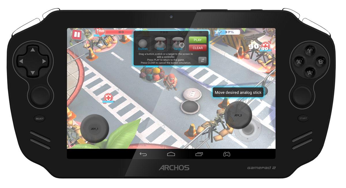 """Планшет Archos Archos Themed GamePad II, 7"""", 16 GB, черный #1"""