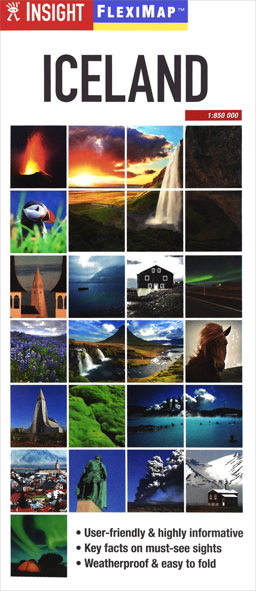 Iceland: Flexi Map #1