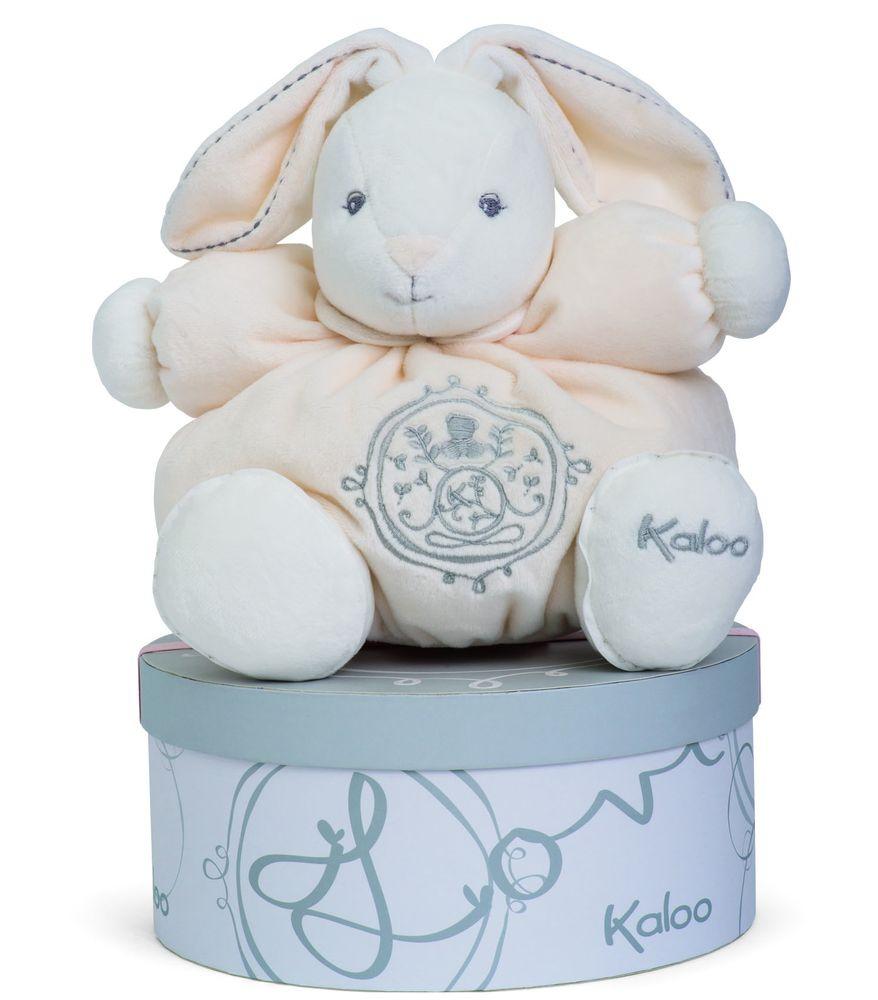 Kaloo Мягкая игрушка Заяц средний Жемчуг цвет кремовый #1
