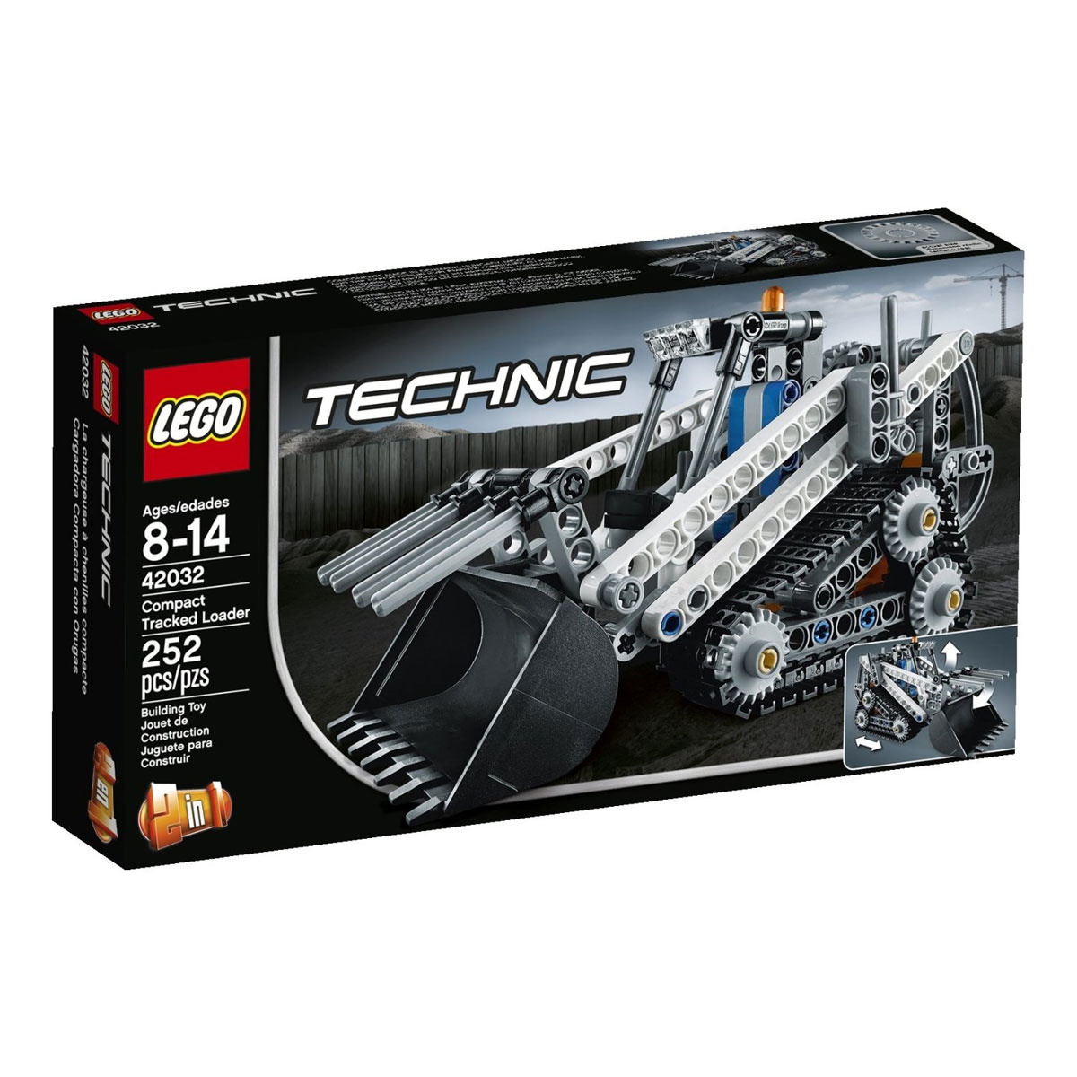 LEGO Technic Конструктор Гусеничный погрузчик 42032 #1