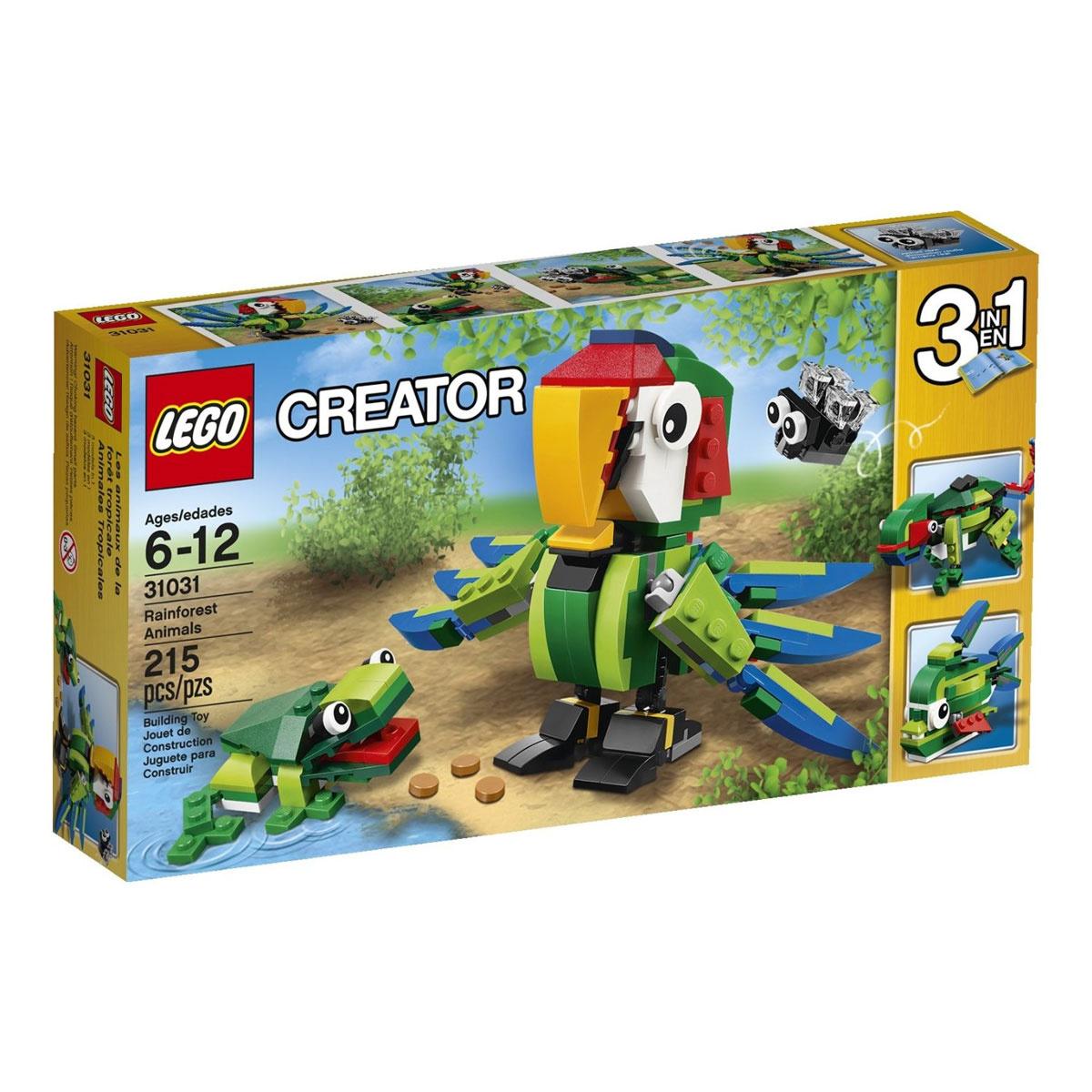 LEGO Creator Конструктор Животные джунглей 31031 #1