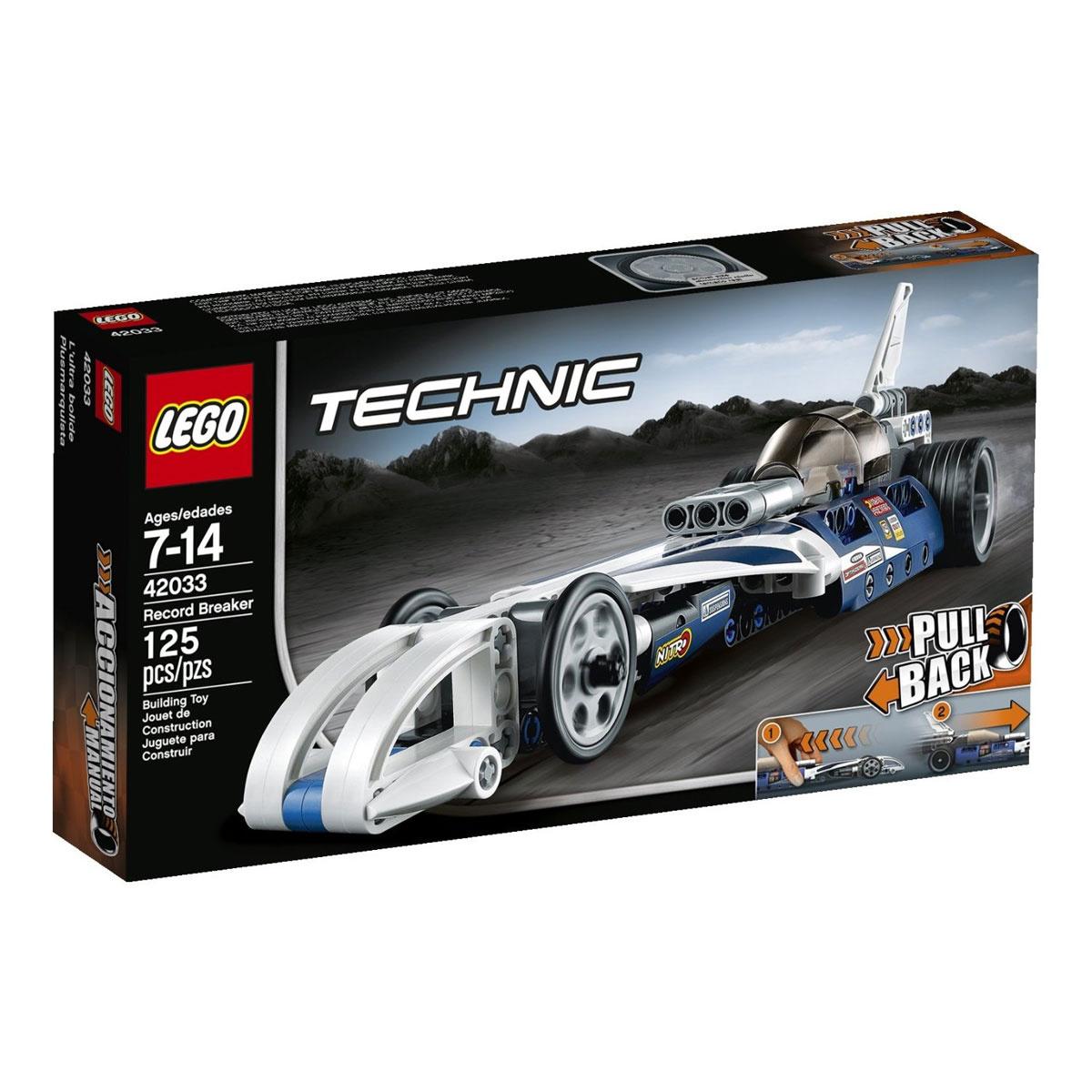 LEGO Technic Конструктор Рекордсмен 42033 #1