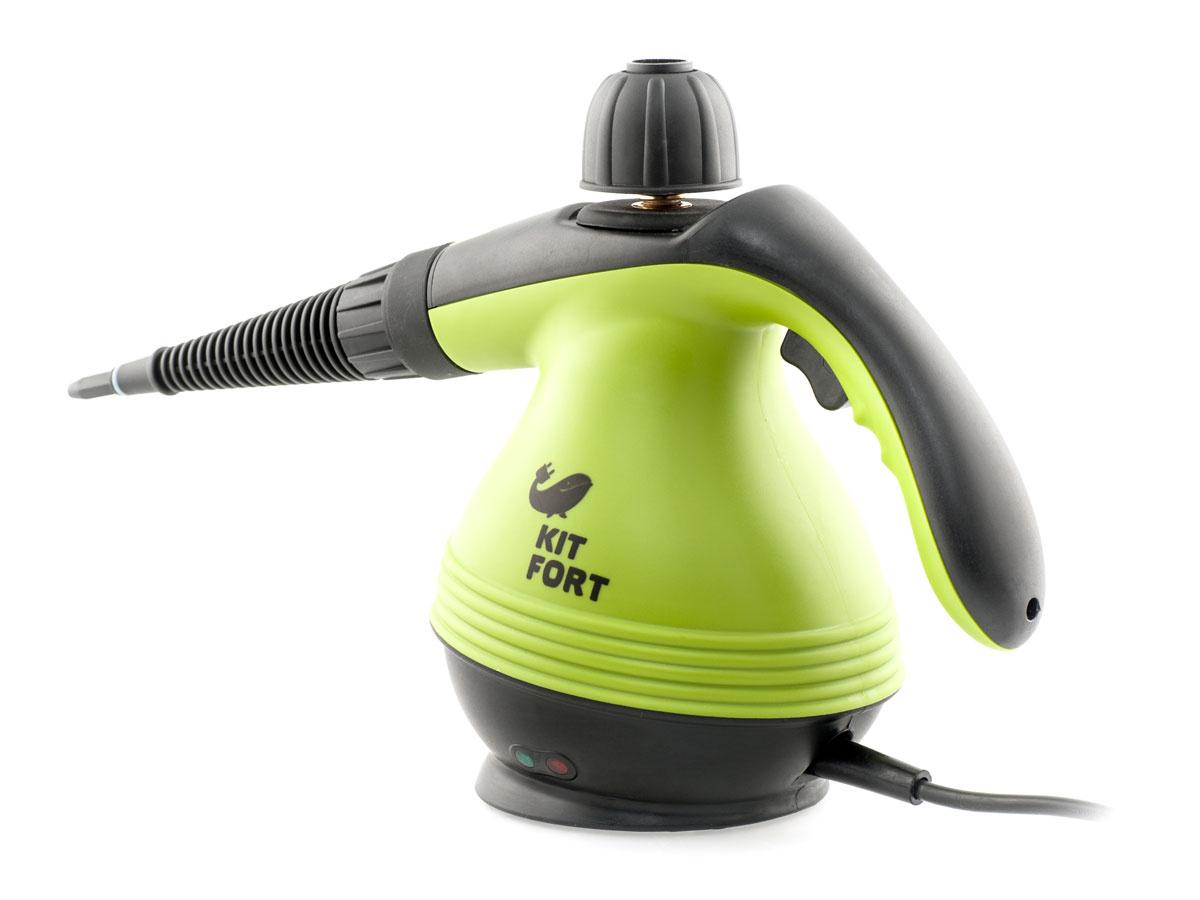 Пароочиститель Kitfort КТ-906, зеленый #1