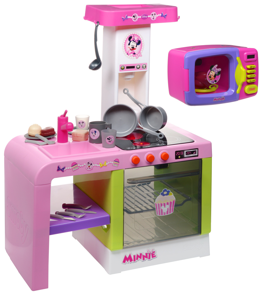 Smoby Кухня Cheftronic Minnie Mouse #1