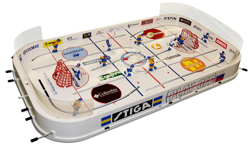 """Настольная игра хоккей Stiga """"Play Off"""", размер: 90х510х975 мм #1"""