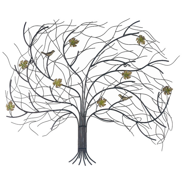 "Декор настенный Gardman ""Дерево на ветру"", 75 х 62 см ..."
