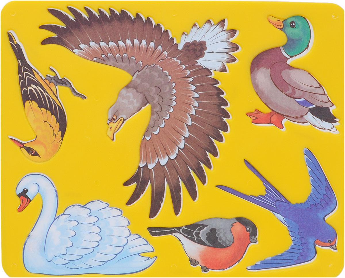 Луч Трафарет прорезной Птицы цвет в ассортименте #1