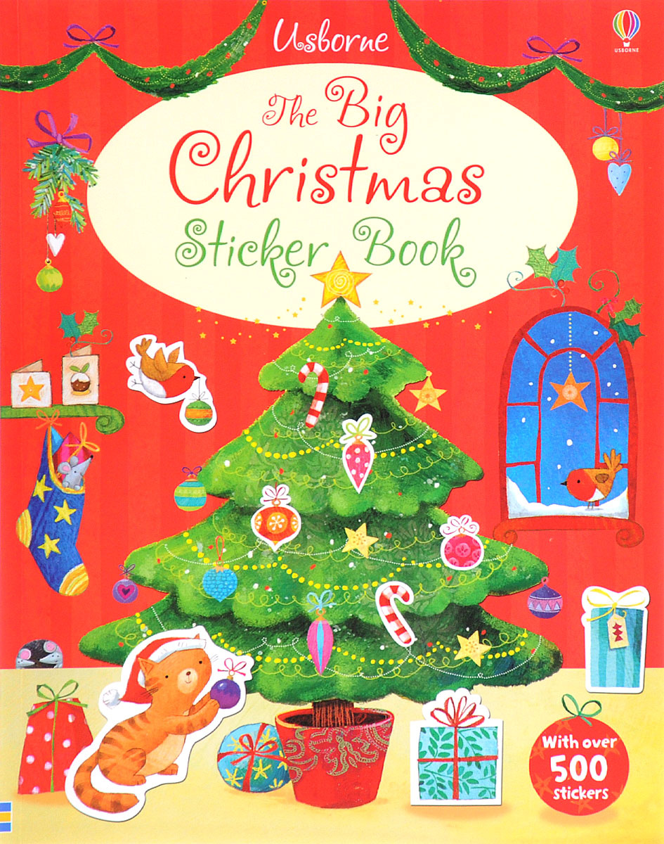 The Big Christmas Sticker Book: Part 1: Santa's Christmas #1