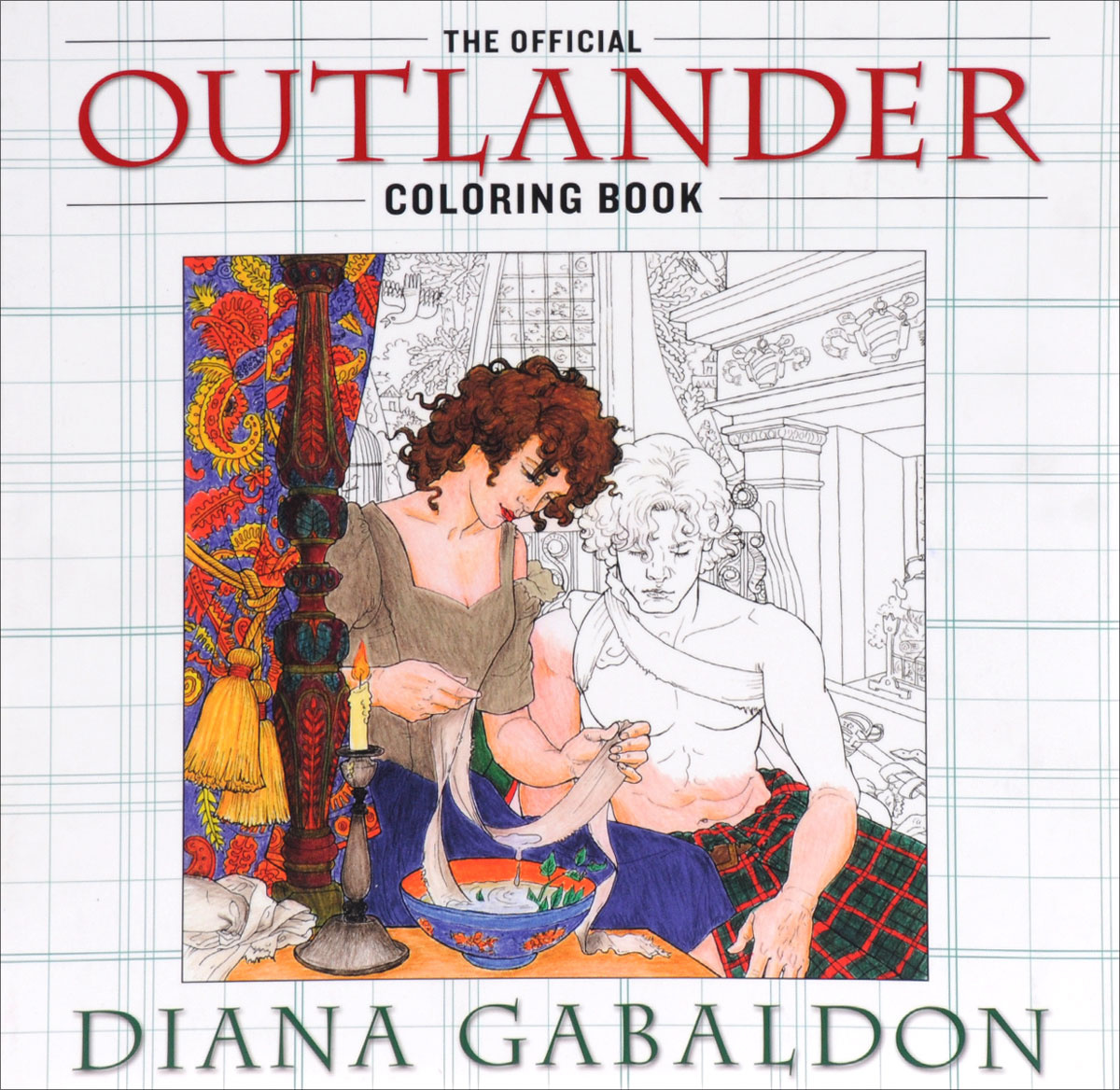 The Official Outlander: Coloring Book | Гэблдон Диана #1