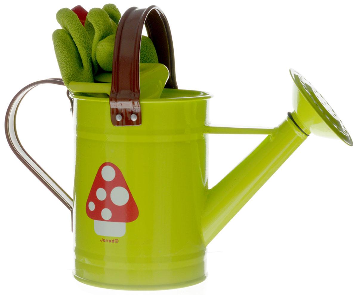 Janod Игровой набор Маленький садовник цвет зеленый #1