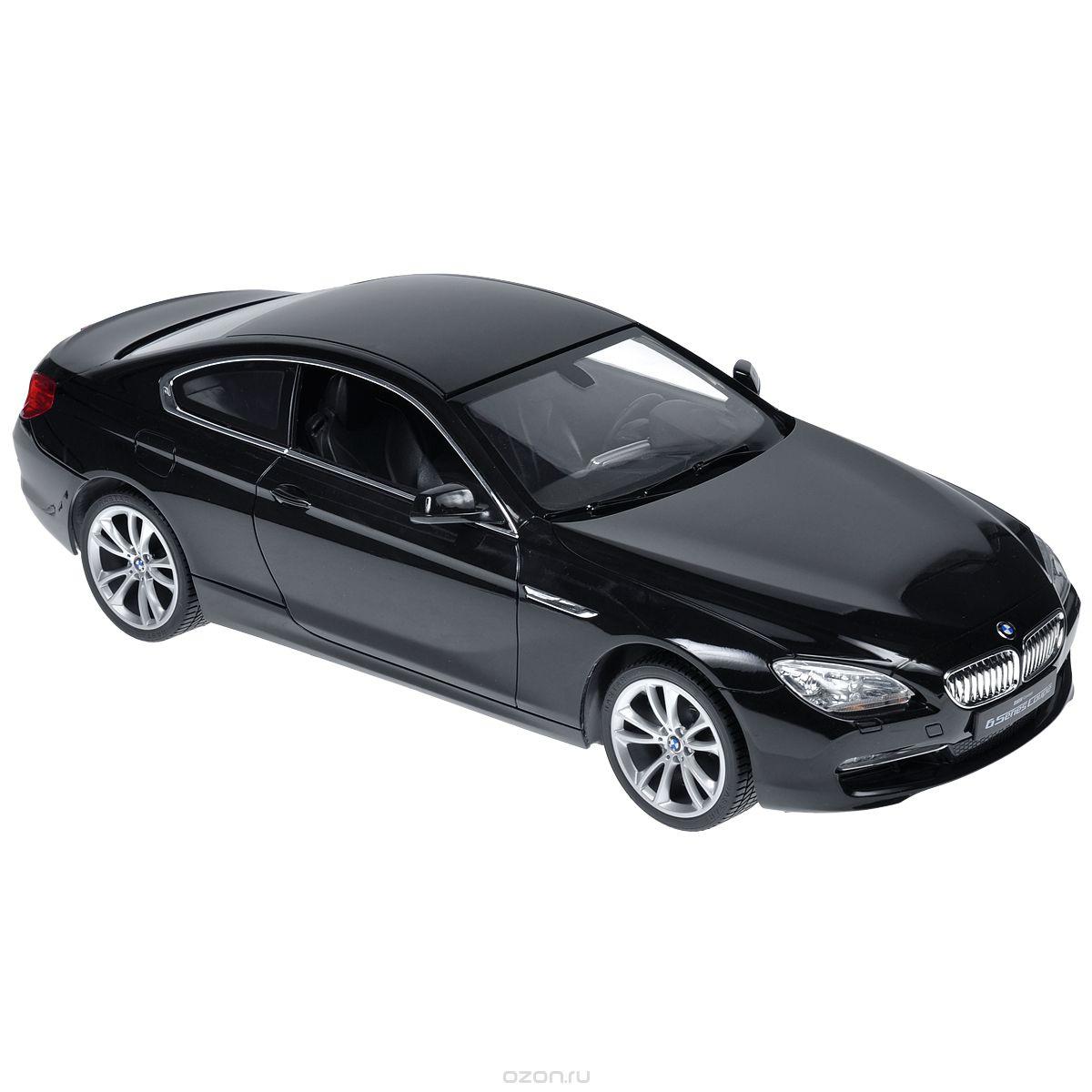 Rastar Радиоуправляемая модель BMW 6S цвет черный #1