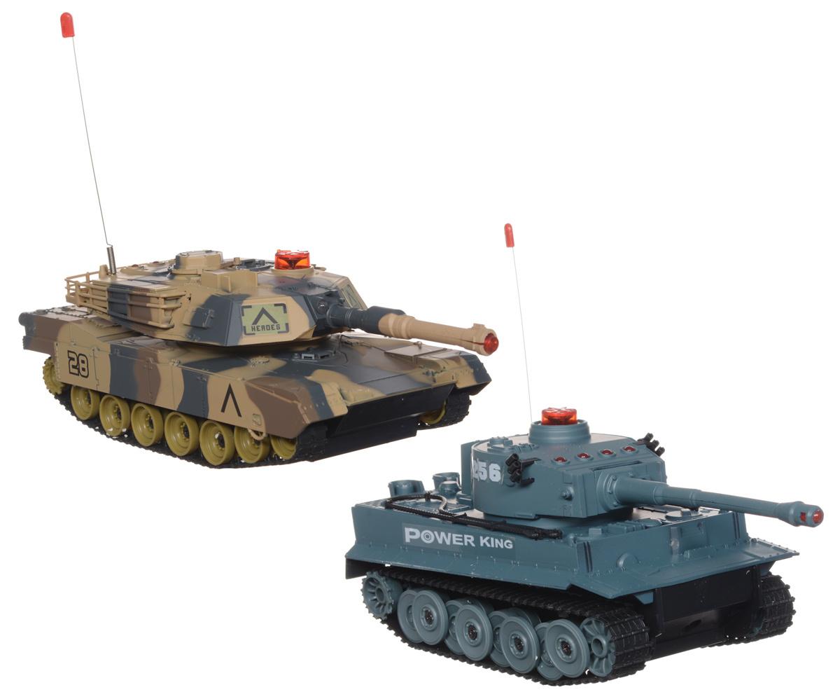 Ginzzu Набор танков на радиоуправлении Танковый бой #1