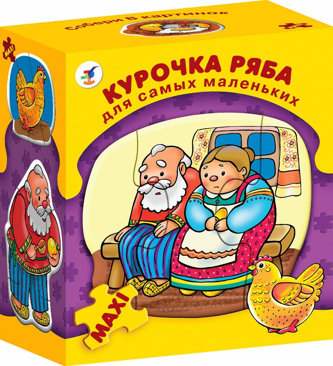 Дрофа-Медиа Пазл для малышей Курочка ряба 8 в 1 — купить в ...