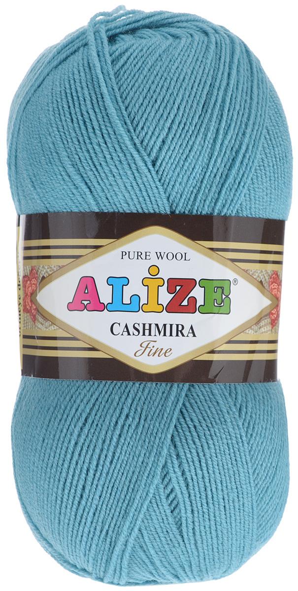 """Пряжа для вязания Alize """"Cashmira Fine"""", цвет: изумрудный (463), 450 м, 100 г, 5 шт  #1"""