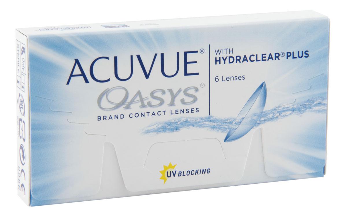 Контактные линзы ACUVUE Acuvue Oasys Двухнедельные, -4.50 / 14 / 8.4, 6 шт.  #1