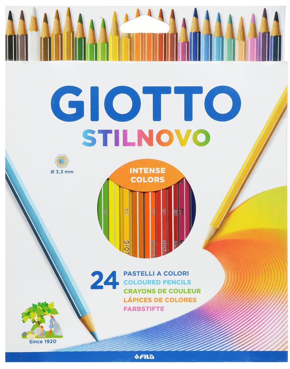Giotto Набор цветных карандашей Stilnovo 24 цвета #1